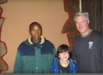 David with Josiah andChauncey
