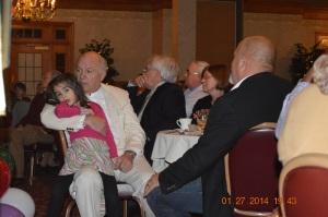 E. Daniel With Granddaughter Lorena